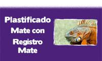 submenu plastificado mate con registro mate